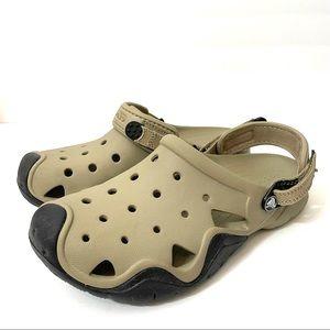 Crocs Siftwater Clog 202251 Men's size 10 Tan